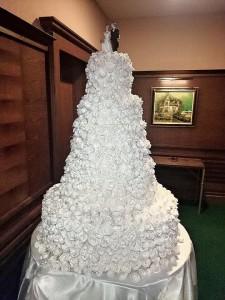 Тортата на Мария и Християн Гущерови