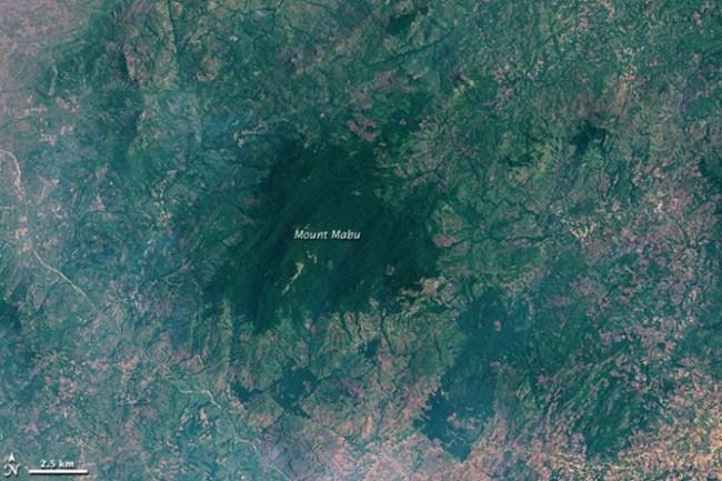 Планината Мабу в Мозамбик, Google Earth