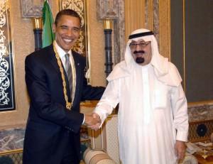 Обама и Крал Абдула, поскъпва на суровия петрол