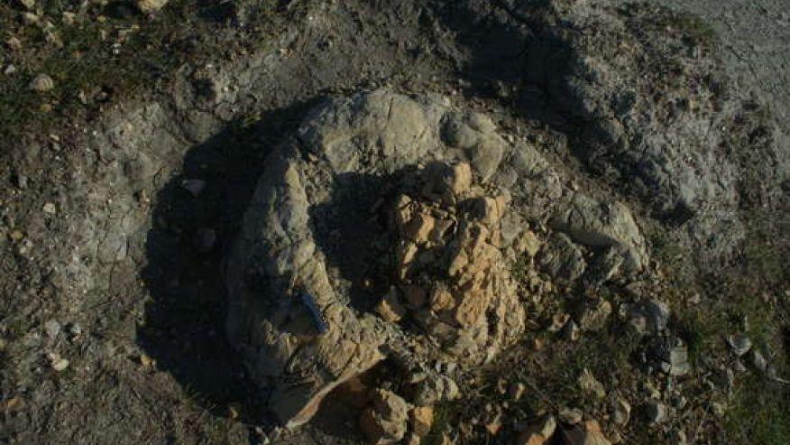 Вкаменелости на Кит, Google-Earth