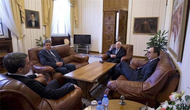 среща на президентите