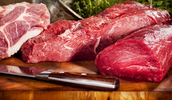 червени меса, рак, месо