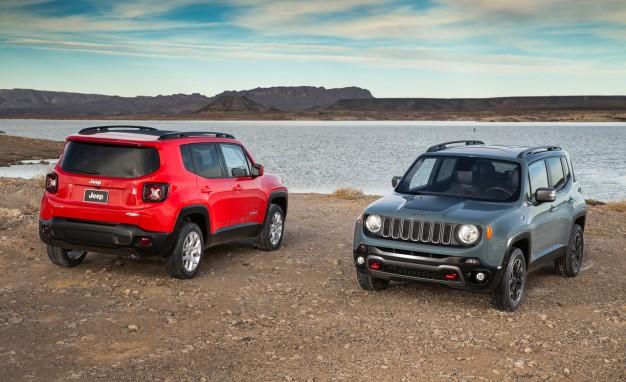 Jeep Renegade 2015, реклама на Jeep