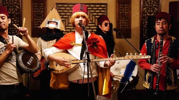 Брала мома къпини, Pyramidos Band