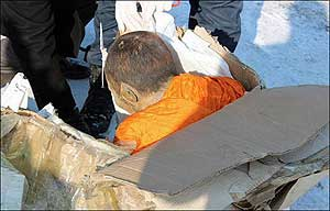 mummified mummy