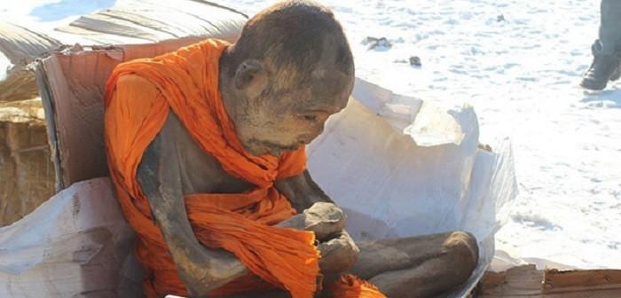 mummified monk