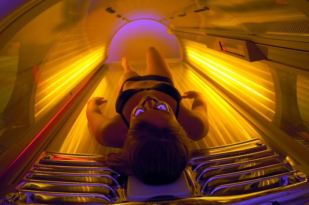слънце, солариум, рак на кожата
