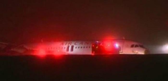 Air Canada самолетна катастрофа