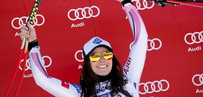 Анна Фенингер, ски