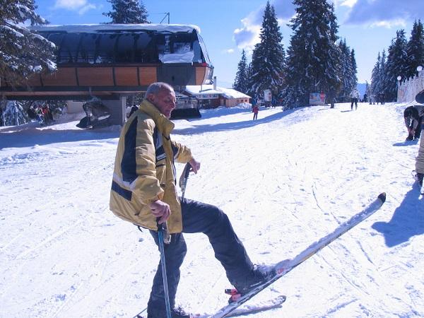 Иван Раев, 90-годишен скиор