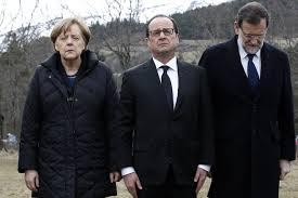 Ангела Меркел, Франсоа Оланд, Мариано Рахой