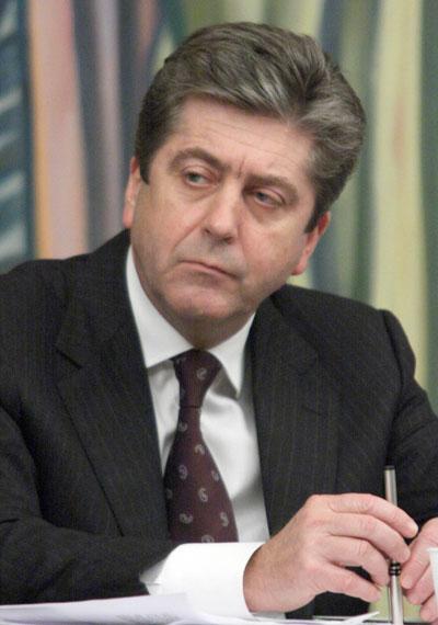 оставка, Георги Първанов