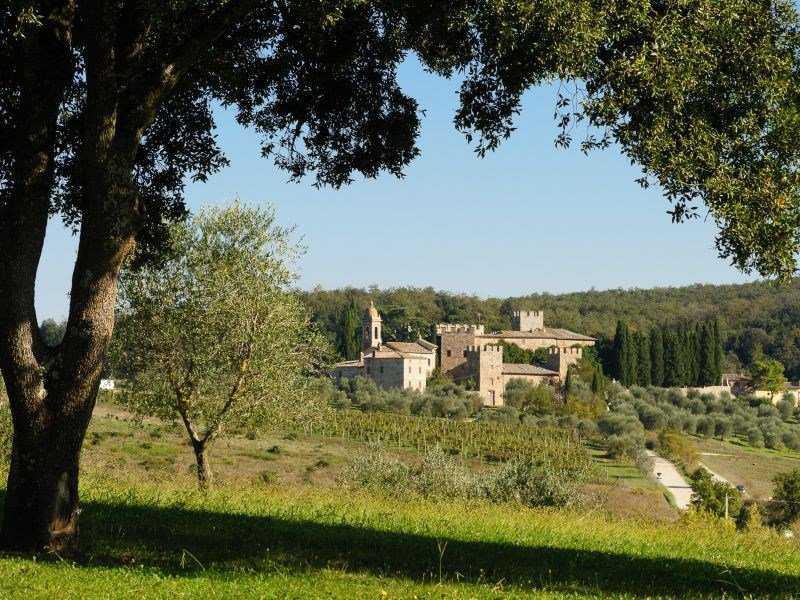 Замък - Тоскана, Италия