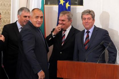 оставка, Георги Първанов, Бойко Борисов