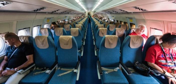 Седалките в самолета IL-62