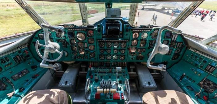 IL-62 - Пилотска кабина
