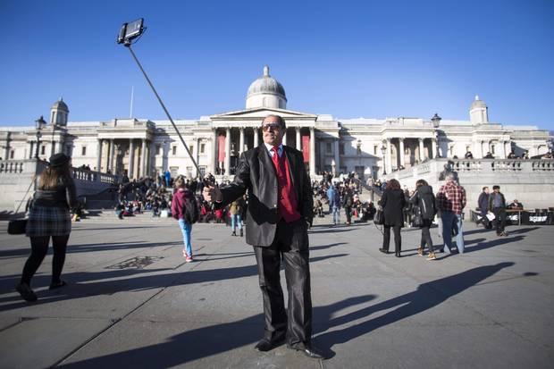 Забрана за моноподи в Националната галерия на Лондон
