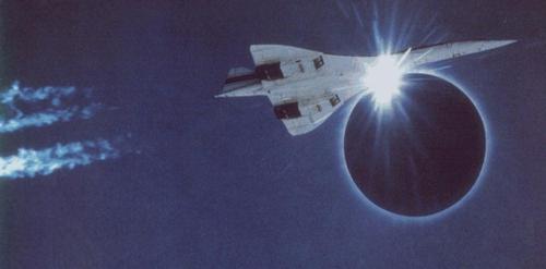 Слънчево затъмнение, Concorde