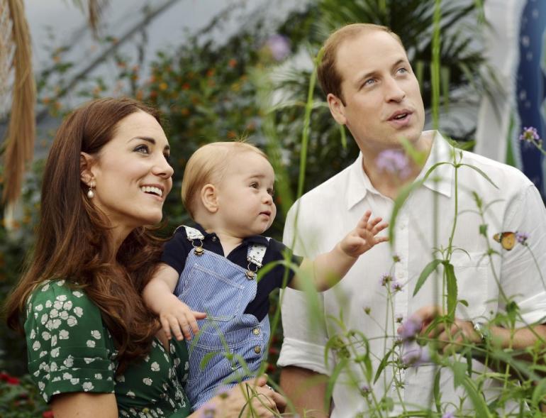принц Уилям, Катрин, Джордж