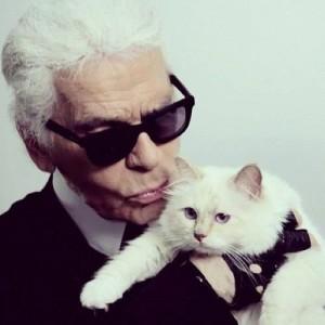 Carl Lagerfeld's kitty-4