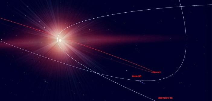 Comets ISON Mercury Меркурий
