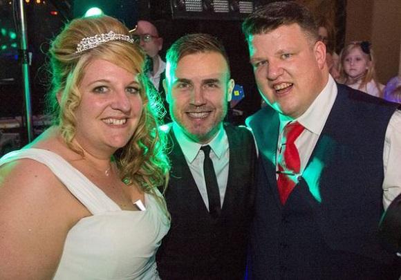 Garry Barlow wedding, Гари Барлоу, сватба