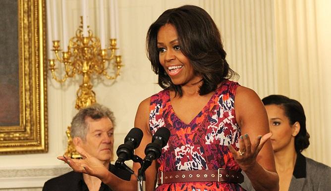 Мишел Обама, госпъл музика в Белия дом