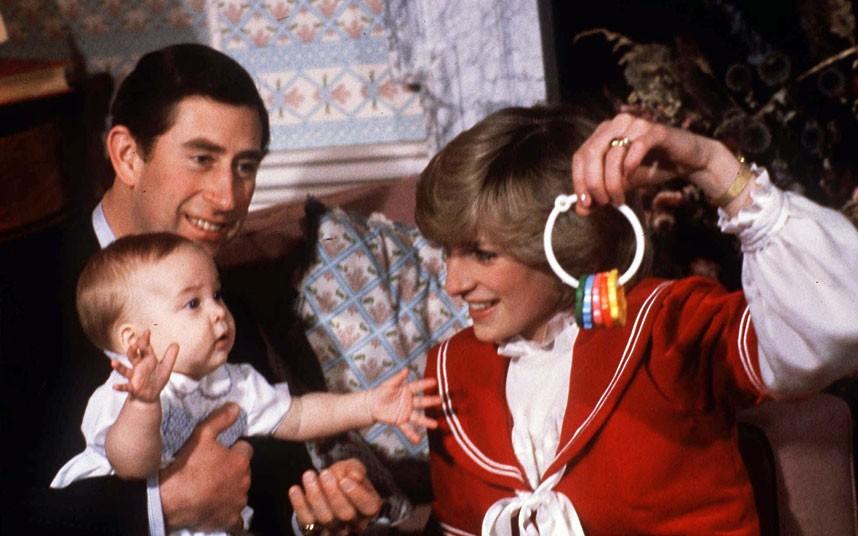 Чарлз, Даяна и принц Уиля