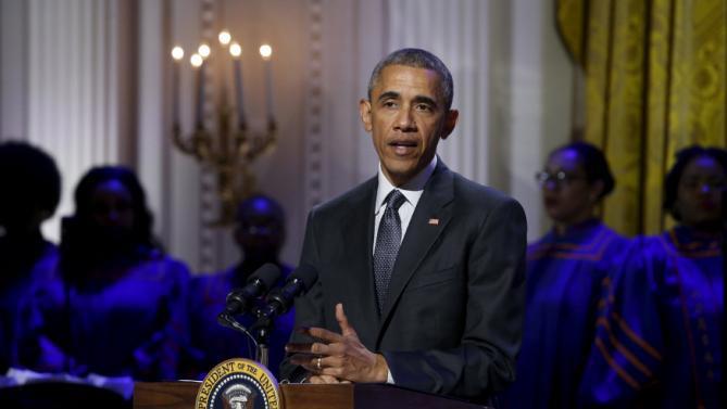 Барак Обама, госпъл музика в Белия дом