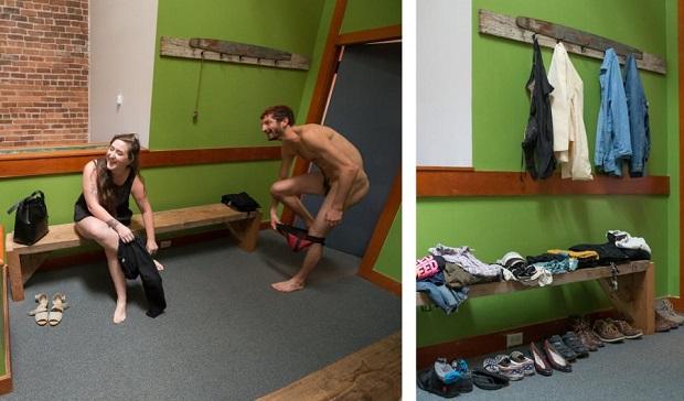 голи в офиса