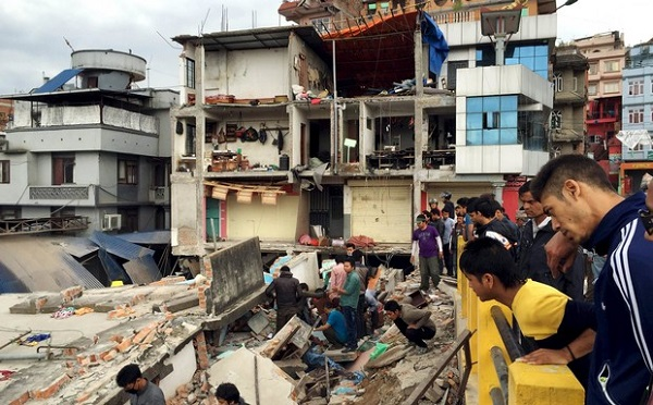Непал, земетресение