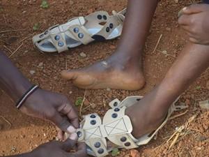 Обувки, които могат да растат
