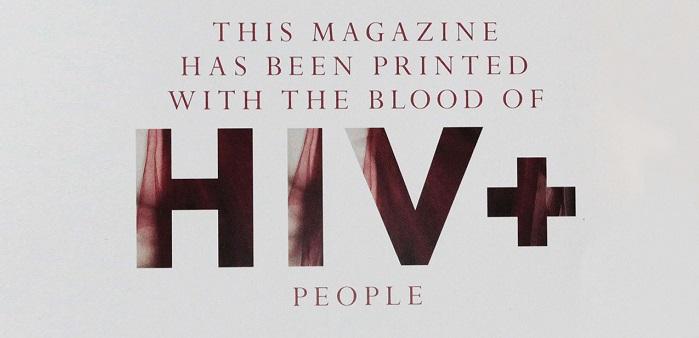 кръв, списание Vangardist
