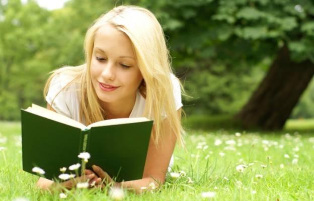 читалня, книга