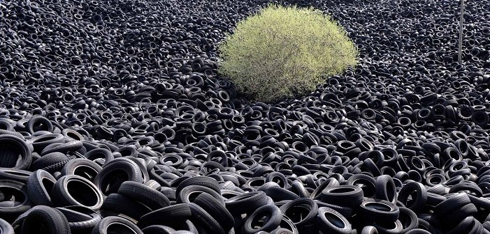 дизел от автомобилни гуми
