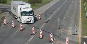 магистрала Тракия, дупки, Пловдив
