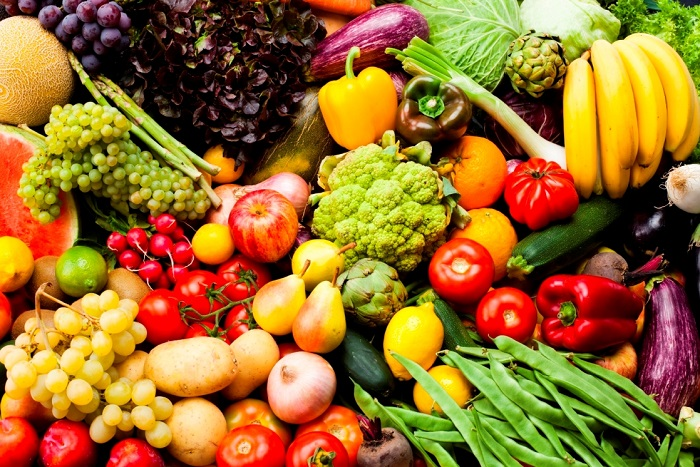 донка байкова, плодове и зеленчуци