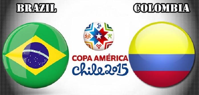 Бразилия, Колумбия, Копа Америка
