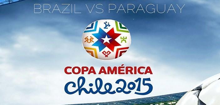 Бразилия, Парагвай, Копа Америка, 2015