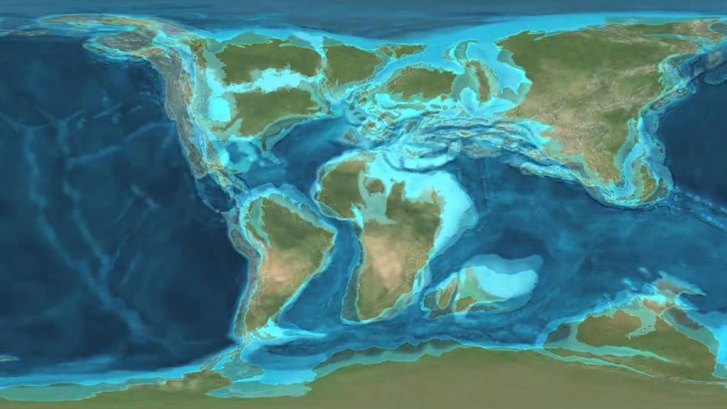 Earth 100 mln years1