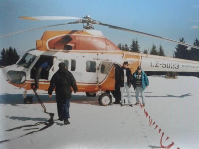 Ахилеас Лилов, хеликоптер