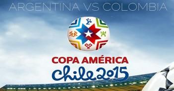 Аржентина, Колумбия, Копа Америка 2015