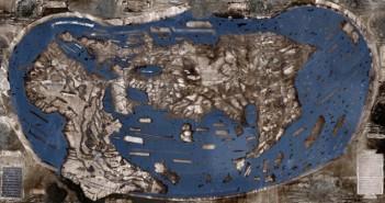 Колумб, карта