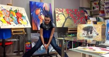 Даниела Николова-Сидиропулу, художник