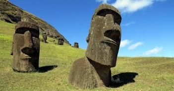 Великденски остров, каменни глави, татуировки