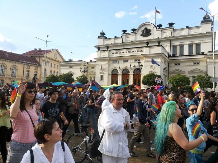 Отец Силвестър, гей парад, София