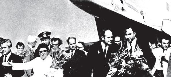 Ахилеас Лилов, ТУ 144 на Летище София