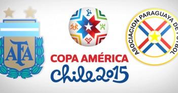 Аржентина, Парагвай, Копа Америка 2015