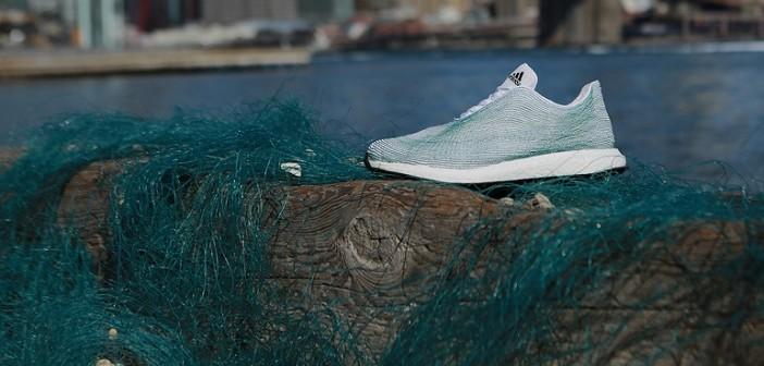 маратонки, adidas, боклук, океан