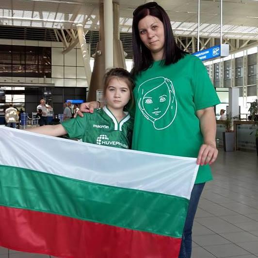 деца, победили рака, Игри за победители, Евгения Пушникова и нейната 9-годишна дъщеря